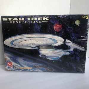 Star Trek Generations U.S.S. Enterprise Model Kit